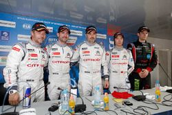 press conference: sébastien Loeb, Citroën C-Elysee WTCC, Citroën World Touring Car team, Jose Maria