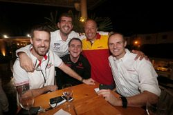 蒂亚戈·蒙特罗,本田Civic WTCC, 本田JAS车队;杜赞·博尔科维奇,本田Civic, Proteam Racing;诺伯特·米切利斯,本田Civic WTCC, 赞戈车队;汤姆·克罗内尔,雪