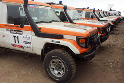 Les véhicules médicaux du Dakar