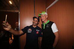 Nasser Al-Attiyah en Erik van Loon