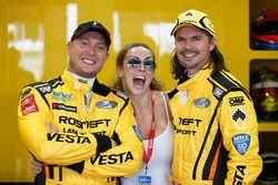 Rob Huff, Lada Vesta WTCC, Lada Sport Rosneft and James Thompson, Lada Vesta WTCC, Lada Sport Rosnef