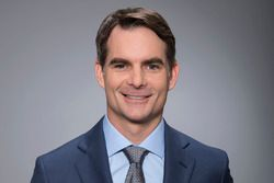 Jeff Gordon as Fox Sports television commentator