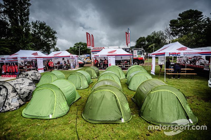 Tiendas del equipo Honda
