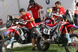 Honda Takımı takım alanı