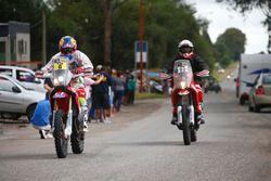 #6 Honda: Joan Barreda ve #92 KTM: Antonio Gimeno