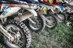 الدراجات بالقرب من بيفواك