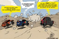 L'humeur de Cirebox - Le nuage de poussière de Peugeot!