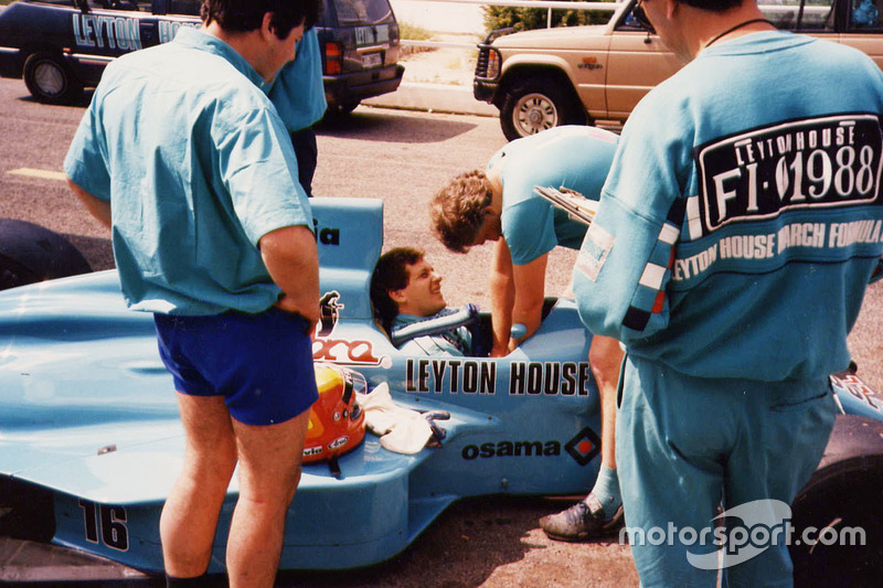Mauricio Gugelmin, Leyton House March 881'de