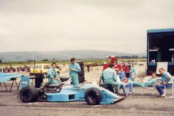 Test del Leyton House March 881
