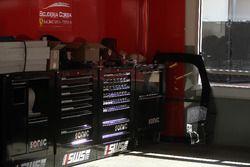 Área del equipo Scuderia Corsa