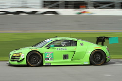 #45 Flying Lizard Motorsports Audi R8 LMS: Нік Йонссон, П'єрр Каффер, Крістофер Хаазе, Трейсі Крон