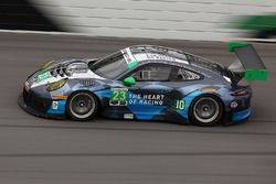 #23 Team Seattle/Alex Job Racing Porsche GT3 R: Ian James, Mario Farnbacher, Alex Riberas, Wolf Henz