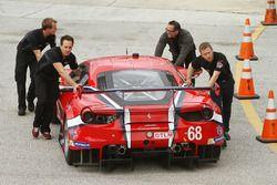 #68 Scuderia Corsa Ferrari 488 GTE: Alessandro Pier Guidi, Alexandre Prémat, Daniel Serra