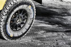 Detalle neumático Michellin