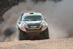 #406 Toyota: Fortunato Maldonado, Victor Alanoca