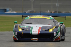 #51 Spirit of Race Ferrari 458: Peter Mann, Raffaele Giammaria, Matteo Cressoni, Marco Cioci