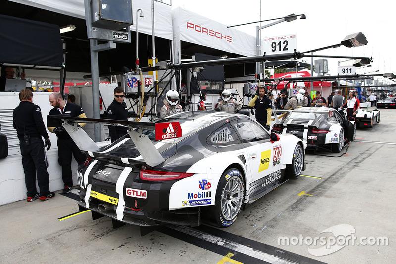 #912 Porsche Team North America Porsche 911 RSR: Michael Christensen, Earl Bamber,