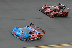 #01 Chip Ganassi Racing Riley DP Ford : Lance Stroll, Alexander Wurz, Brendon Hartley, Andy Priaulx, #70 Mazda Motorsports Mazda Prototype : Joel Miller, Tom Long, Ben Devlin