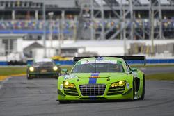 #45 Flying Lizard Motorsports Audi R8 LMS: Nic Jonsson, Pierre Kaffer, Christopher Haase, Tracy Kroh