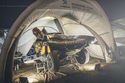 Peugeot Total Takımı mekanikerleri