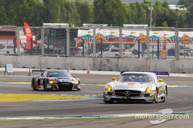 #92 Team AAI – HubAuto Mercedes Benz SLS AMG GT3: Han Chen Chen, Shinya Hosokawa, Hiroki Yoshimoto