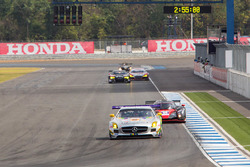 #92 Team AAI _x0096_ HubAuto Mercedes Benz SLS AMG GT3: Han Chen Chen, Shinya Hosokawa, Hiroki Yoshi