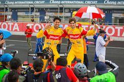 Winnaars Sean Gelael en Antonio Giovinazzi