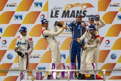 Podium LMP3 : les vainqueurs David Cheng, Ho-Pin Tung, Thomas Laurent