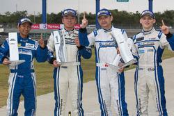 GTAm winners Paul Ip, Martin Rump, Yuan Bo