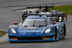 Марк Госсенс, Райан Дил и Райан Хантер-Рей, #90 VisitFlorida.com Racing Corvette DP