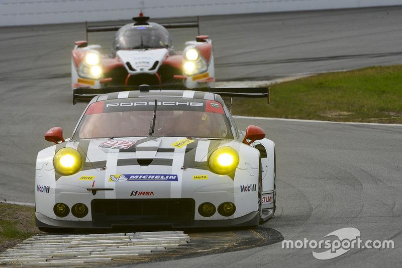 #912 Porsche Team North America Porsche 911 RSR: Michael Christensen, Earl Bamber, Frédéric Makowiecki