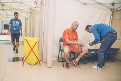 El servicio médico en el Rally Dakar