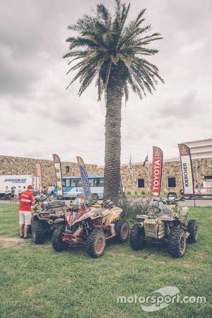 2016 Dakar Rallisi, Dinlenme Günü'nde kamp alanı
