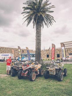El bivouac del Rally Dakar 2016 en el día de descanso