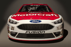 El Ford Fusion 2016 de Ryan Blaney, Wood Brothers Racing