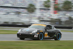 #31 Bodymotion Racing Porsche Cayman: Devin Jones, Trent Hindman, Rob Slonaker