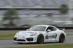 #21 Muehlner Motorsports America Porsche Cayman GT4: Kyle Marcelli, Andrew Danyliw, Michael Mathe
