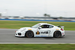 #21 Muehlner Motorsports America Porsche Cayman GT4: Kyle Marcelli, Andrew Danyliw, Michael Mathe