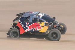 #314 Peugeot: Sèbastien Loeb, Daniel Elena na crash