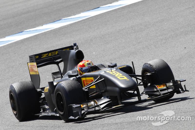 F1 Pirelli Test: Lucas di Grassi