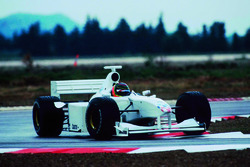 F1 BMW Test Jörg Müller with Williams Chassis of 1999