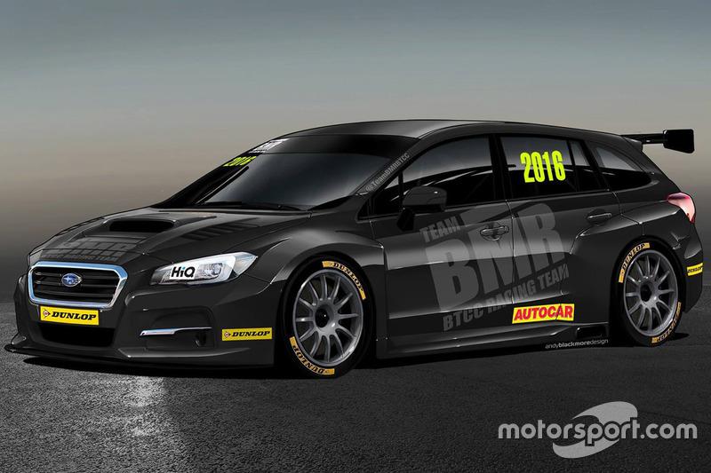 Subaru Levorg, Team BMR