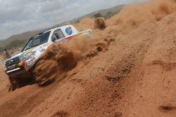 #401 Toyota: Rodrigo Gutierrez, Joan Rubi