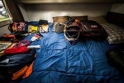 KTM'den Toby Price'ın ekipmanları