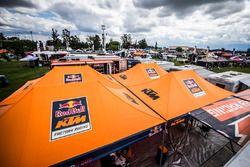 KTM Takımı takım alanı
