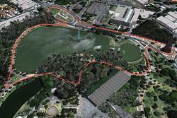 Projecto de Lucas di Grassi para el circuito de la Fórmula E en Brasil