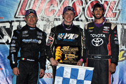 Monday winner Alex Bright, second place Joey Saldana, third place Zach Daum