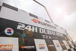 Podio de las 24h Dubai