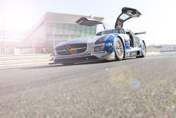 #27 SPS automotive-performance Mercedes SLS AMG GT3: Alex Müller, Tim Müller, Lance-David Arnold, Va
