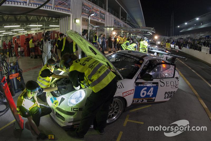 #64 Porsche Lorient Racing Porsche 997 Cup S: Frédéric Ancel, Christophe Bourret, Pascal Gibon, Jean